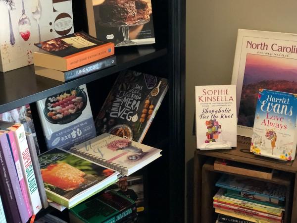 Böcker i bokhandeln