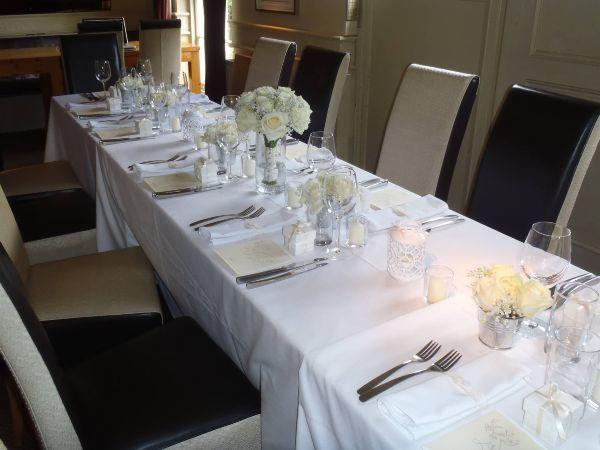 Catering dukat bord